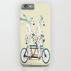 polar bears lets tandem iPhone 6 Slim Case