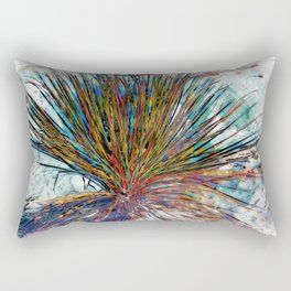 Painted Desert Yucca Plant Rectangular Pillow