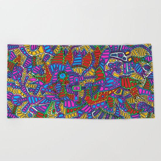 - summer mind - Beach Towel