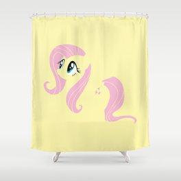 ... My Little Pony   Minimal Fluttershy Shower Curtain ...
