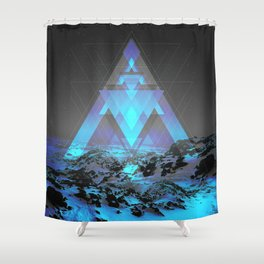 Neither Real Nor Imaginary Shower Curtain