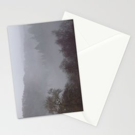 West Dartmoor valley in the mist Stationery Cards