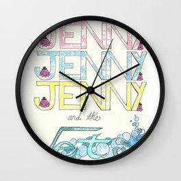For Jenny Wall Clock