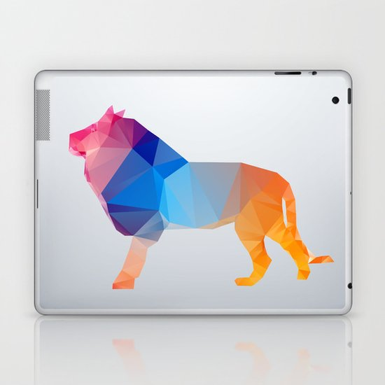 Glass Animal Series - Lion Laptop & iPad Skin