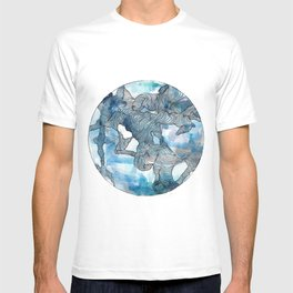 Blue Labyrinth T-shirt