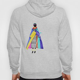 African style Hoody