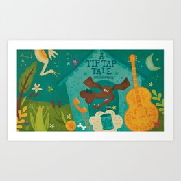"""A Tip Tap Tale"" Promo Art Print"
