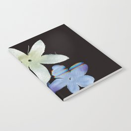 Artificial Flowers Glitched Scan Notebook