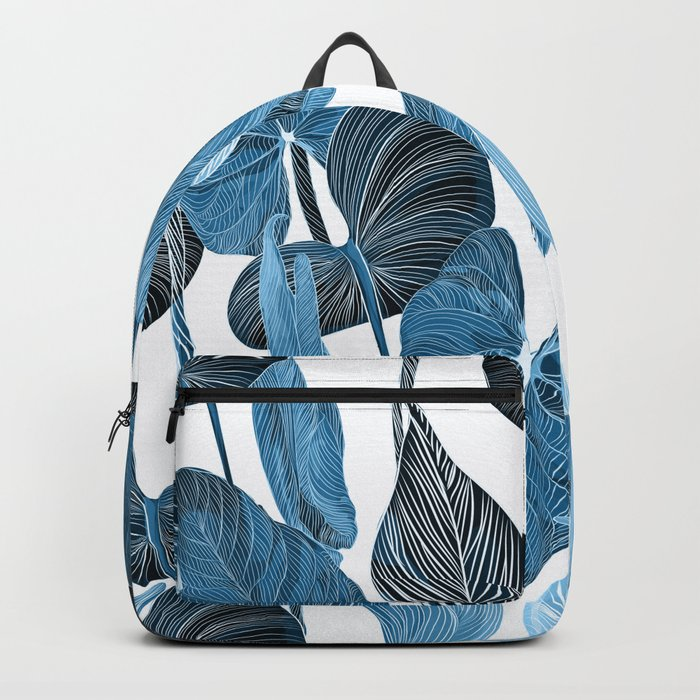 Lush Lily - chambray Backpack