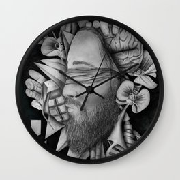 Chaotic Disorders IV Wall Clock