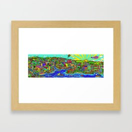 pulchra phila Framed Art Print