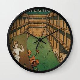 Grande Piscine Wall Clock