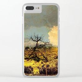 Radiation Desert Clear iPhone Case