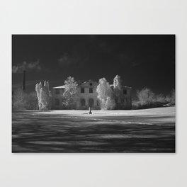 Winter Island - Jim Bostick Canvas Print