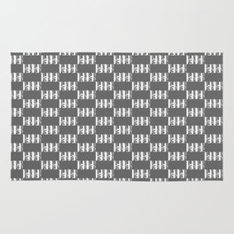 Salk Institute Kahn Modern Architecture Rug
