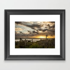 Lundy Island Framed Art Print