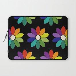 Flower pattern based on James Ward's Chromatic Circle (enhanced) Laptop Sleeve