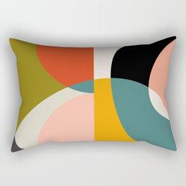 geometry shapes 3 Rectangular Pillow