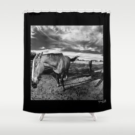 Farm Horse Shower Curtain