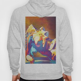 The United Colours of Orgasm Thermal Nude Hoody