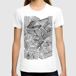 Tangled Brushstrokes T-shirt