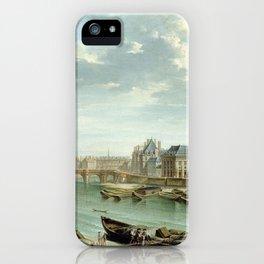 Jean-Baptiste Raguenet A View of Paris with the Ile de la Cité iPhone Case