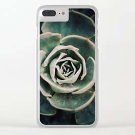 DARKSIDE OF SUCCULENTS IV Clear iPhone Case