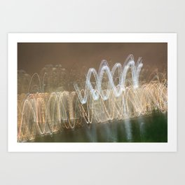 Bright Lights, Big City VI Art Print