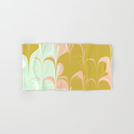 Abstract in Ice Cream Colors Hand & Bath Towel