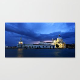 Lightning in Venice Canvas Print