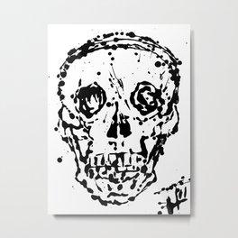 splat Metal Print