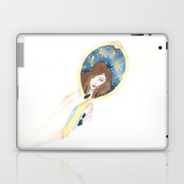 Disappearing Past Self Laptop & iPad Skin