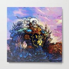 nobleman Metal Print
