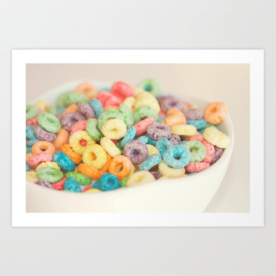 Fruit Loops Art Print