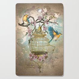 Birds were meant to fly Cutting Board