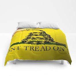 Don't Tread On Me Comforters