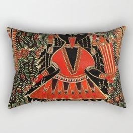 Hindu Kali 16 Rectangular Pillow