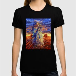 native american colorful portrait T-shirt