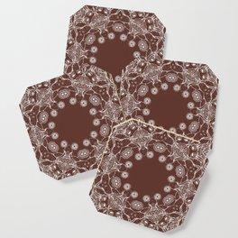 brown Mandala Coaster