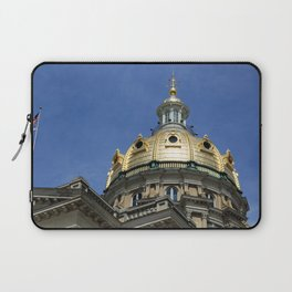 Iowa State Capitol Dome - Photography Laptop Sleeve