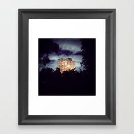 Flats Framed Art Print
