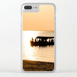 Amazon Boat Clear iPhone Case