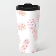 Pink Pineapples Travel Mug