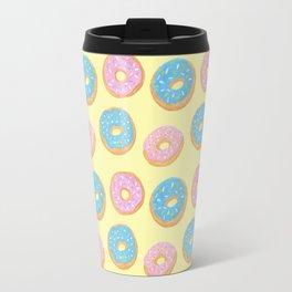 Doughnut Pattern Travel Mug