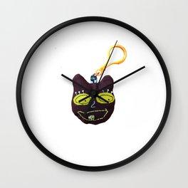 teddy pop art keychain Wall Clock