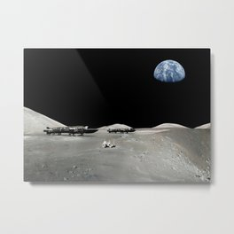 Space 1999 Eagles Metal Print