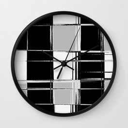 Picture this as a Scarf with Fringe (Hipster series) Wall Clock
