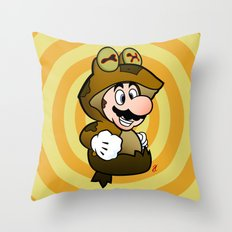 All Glory to the Mario Bros! Throw Pillow