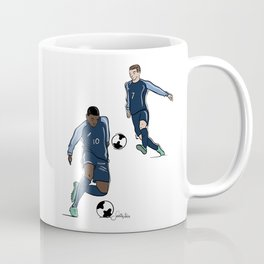Fifa World Cup Champions Mbappé & Griezmann France Coffee Mug