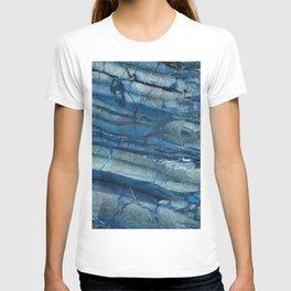Ocean Depths Blue Marble T-shirt